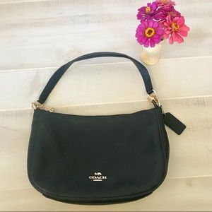 Coach Chelsea black leather purse
